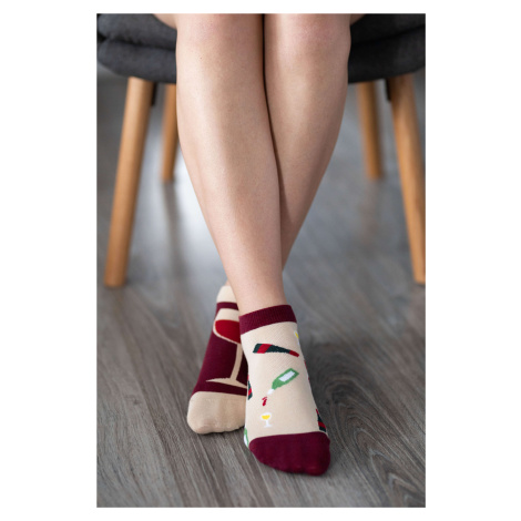 Barefoot Socks - Low-Cut - Wine 43-46