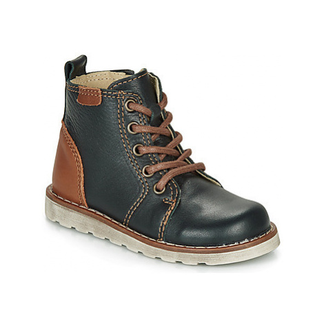 Citrouille et Compagnie LAKITO boys's Children's Mid Boots in Black