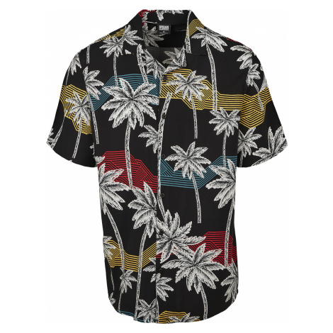 Urban Classics - Frond Resort Shirt - Workershirt - multicolour