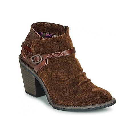 Blowfish Malibu LAMA women's Low Ankle Boots in Brown