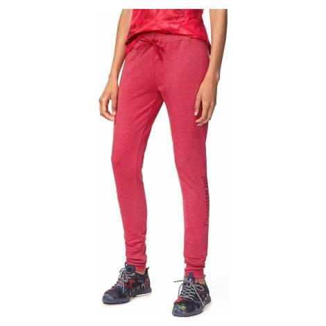 sweatpants Desigual 17WPRK21/Essential - 3139/Raspberry