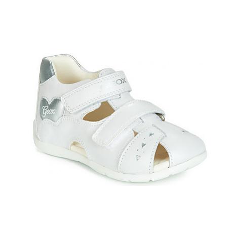Geox B KAYTAN girls's Children's Sandals in White