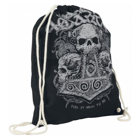 Amon Amarth Skull Hammer Gym Bag black