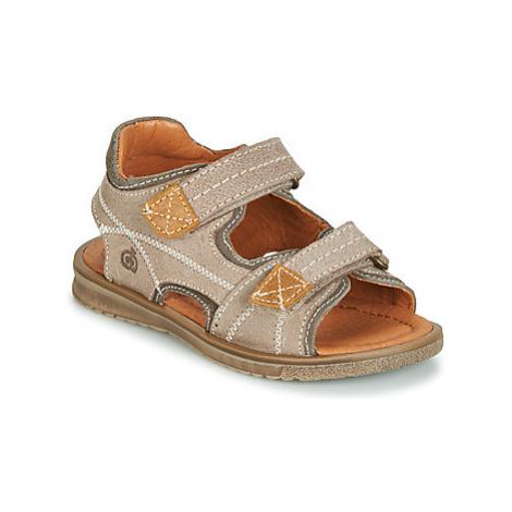 Citrouille et Compagnie JOULOUXE boys's Children's Sandals in Beige