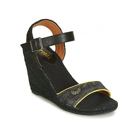 Kaporal TEVY women's Sandals in Black
