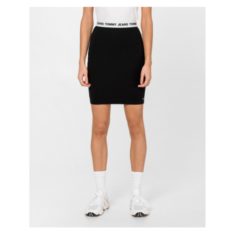 Tommy Jeans Skirt Black Tommy Hilfiger
