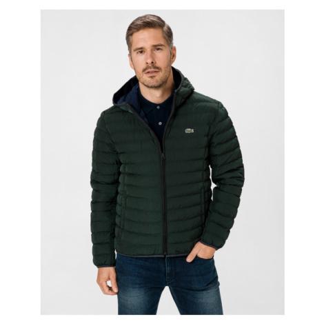 Lacoste Lightweight Water-Resistant Puffer Jacket Green