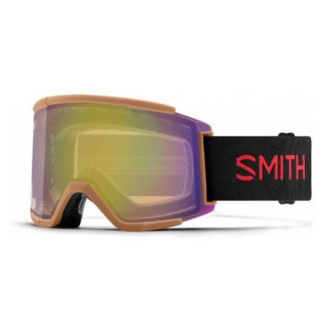 Smith SQUAD XL brown - Unisex downhill ski goggles