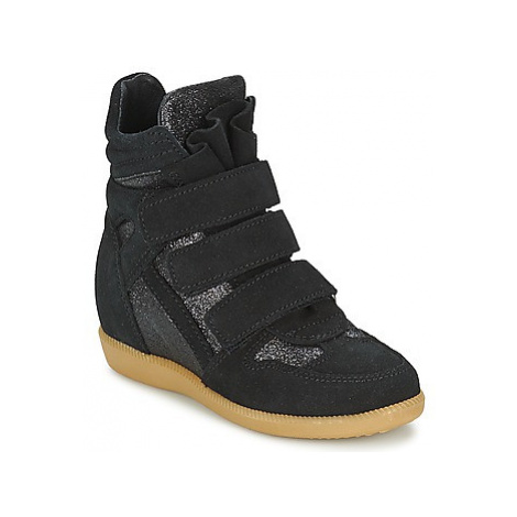 Acebo's MILLIE girls's Children's Shoes (High-top Trainers) in Black