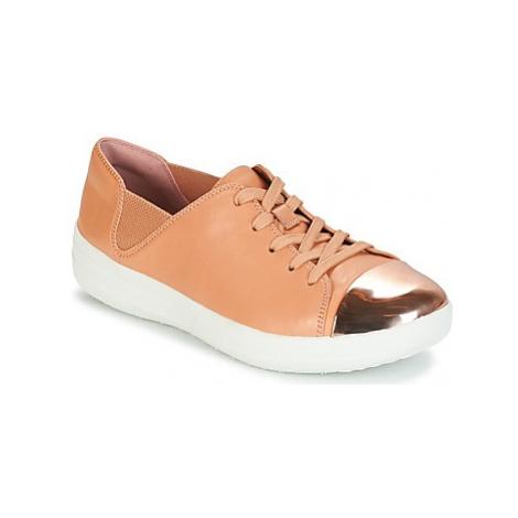 FitFlop F-SPORTY MIRROR-TOE SNEAKERS women's Shoes (Trainers) in Beige