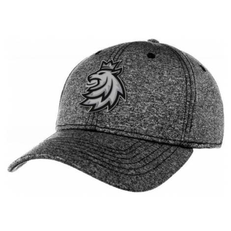 Střída MELANGE LOGO LEV CIHT dark gray - Baseball cap