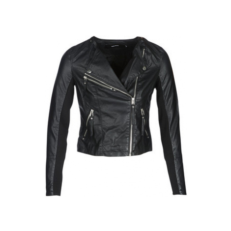 Vero Moda VMRIA FAV women's Leather jacket in Black