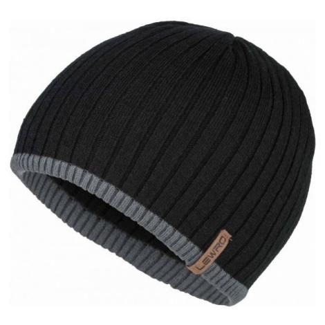 Lewro BOBYS black - Boys' knitted hat