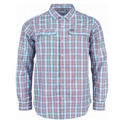 Columbia SILVER RIDGE™ 2.0 PLAID L/S SHIRT blue - Men's long sleeve shirt