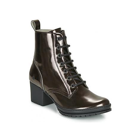 Art CAMDEN women's Low Ankle Boots in Silver