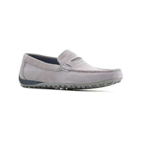 Geox U Snake MOC A U8207A-00022-C9007 men's Loafers / Casual Shoes in Grey