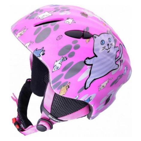 Blizzard MAGNUM pink - Children's ski helmet