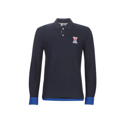 Vicomte A. POTTER TRI COLLAR POLO men's Polo shirt in Blue