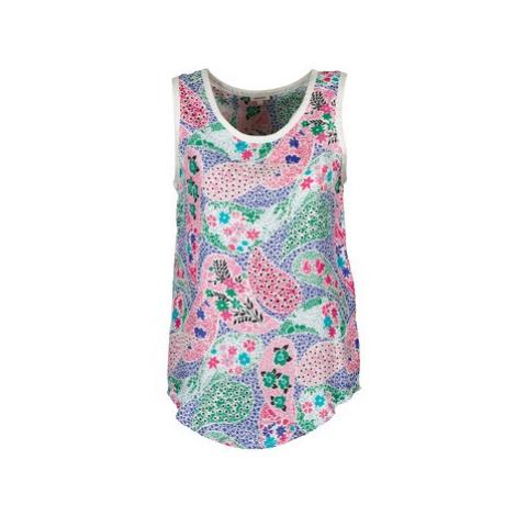 Manoush PAISLEY RETRO women's Vest top in Multicolour