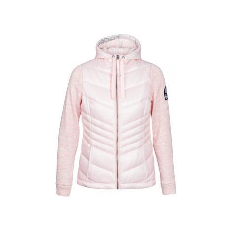 Superdry SD STORM SHINE ZIPHOOD women's Jacket in Pink