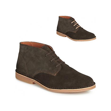 Selected ROYCE DESERT LIGHT SUEDE men's Mid Boots in Brown