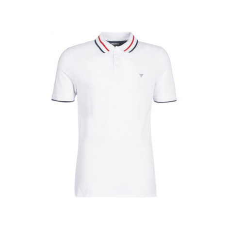 Guess CLAUD men's Polo shirt in White