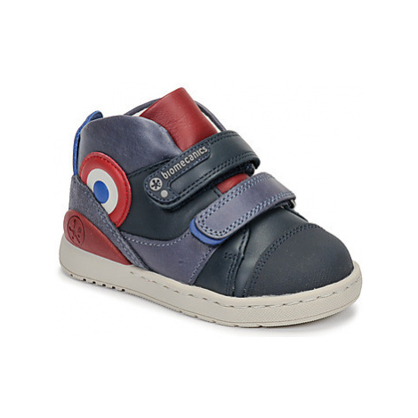 Biomecanics STEEVE boys's Children's Shoes (Trainers) in Blue