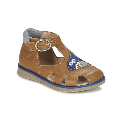 Citrouille et Compagnie ISKILANDRO boys's Children's Sandals in Brown