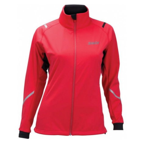 Swix CROSS W red - Women's sports softshell jacket
