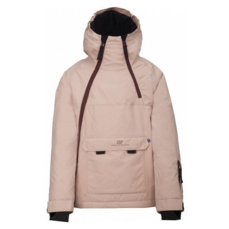 2117 LILLHEM pink - Kids' ski jacket