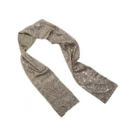 Ambre Babzoe ECHARPE PAILLETEE women's Scarf in Silver