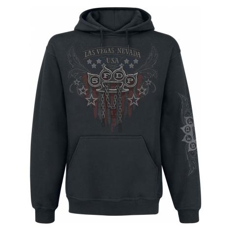Five Finger Death Punch - Eagle Color - Hooded sweatshirt - black