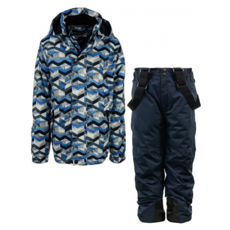ALPINE PRO BOJORO blue - Children's ski set