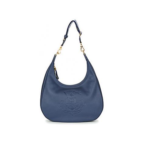 Lauren Ralph Lauren HUNTLEY HOBO women's Shoulder Bag in Blue