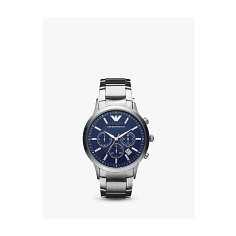Emporio Armani Men's Date Chronograph Bracelet Strap Watch