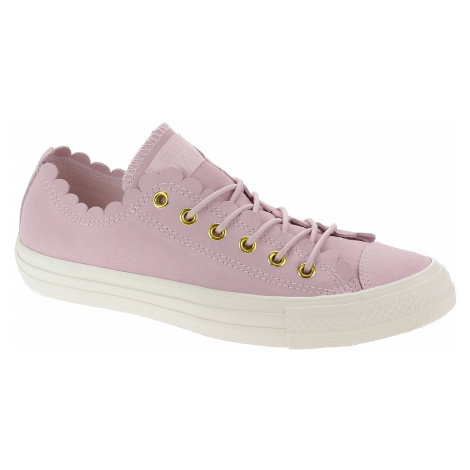shoes Converse Chuck Taylor All Star Frilly Thrills OX - 563416/Pink Foam/Gold/Egret - women´s