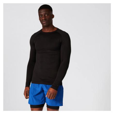Elite Seamless Long-Sleeve T-Shirt – Black Myprotein