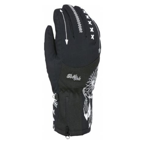 Level BLISS EMERALD GORE black - Women's ski gloves