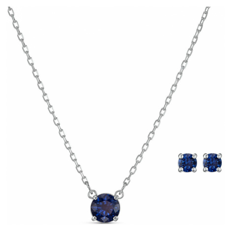 Swarovski Attract Sapphire Crystal Jewellery Set