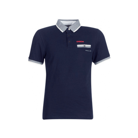 Oxbow L1NOSTER men's Polo shirt in Blue