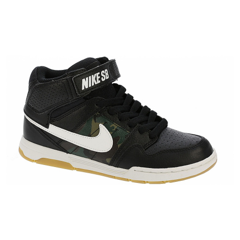 shoes Nike SB Mogan Mid 2 Jr B - Black/Summit White/Medium Olive