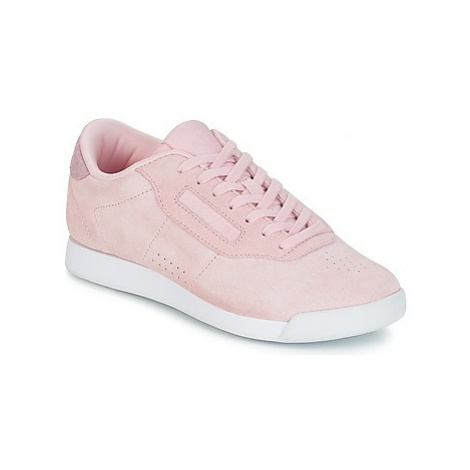 Reebok Classic PRINCESS LEATHER women's Shoes (Trainers) in Pink
