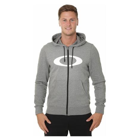 sweatshirt Oakley Ellipse Zip - Athletic Heather Gray - men´s