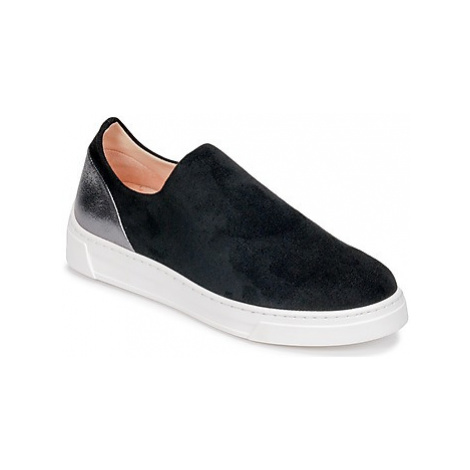 Unisa FELIP women's Slip-ons (Shoes) in Black