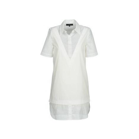 American Retro CHARLOTTE women's Dress in White