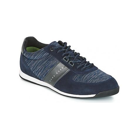 BOSS MAZE LOWP KNIT men's Shoes (Trainers) in Blue Hugo Boss