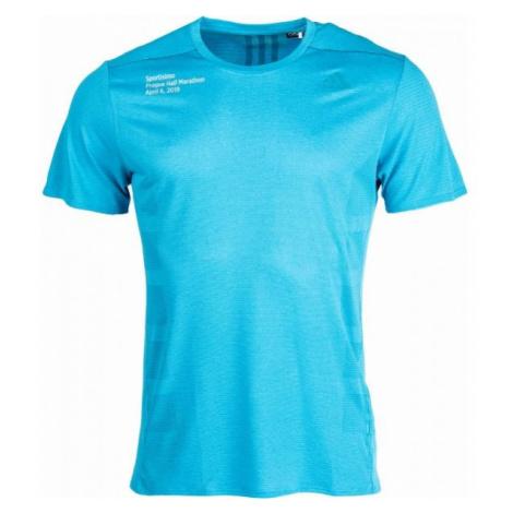 adidas SUPERNOVA TEE blue - Men's sports T-shirt