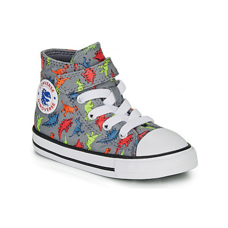 Converse CHUCK TAYLOR ALL STAR 1V DINOVERSE HI boys's Children's Shoes (High-top Trainers) in Gr