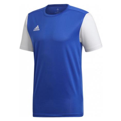 adidas ESTRO 19 JSY JNR blue - Kids' football jersey