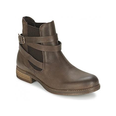 Casual Attitude RIBOULIA women's Mid Boots in Brown